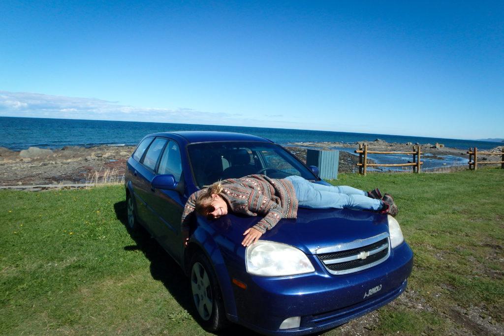 roadtrip en voiture gaspésie