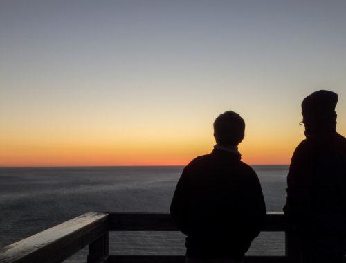 Lever de soleil Gaspésie