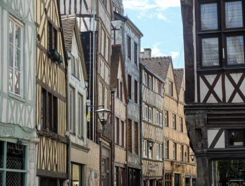 maison pan de bois normandie