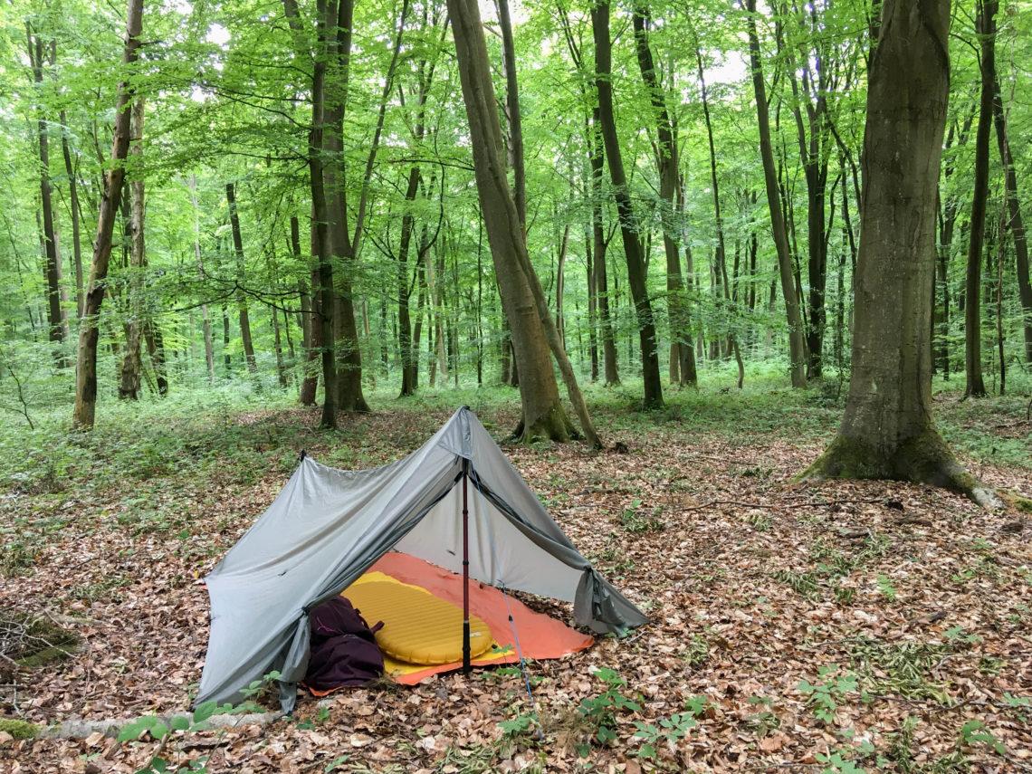 Camper nature randonnée