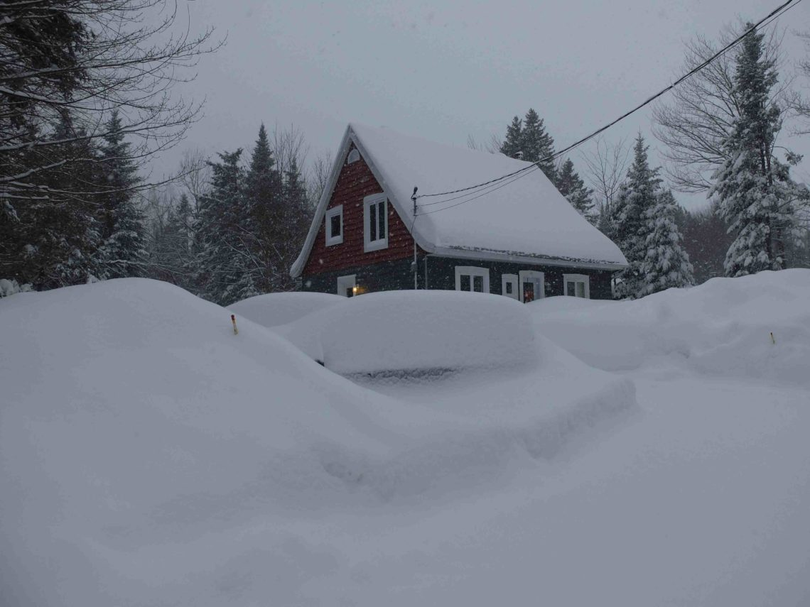 PVT Canada hiver