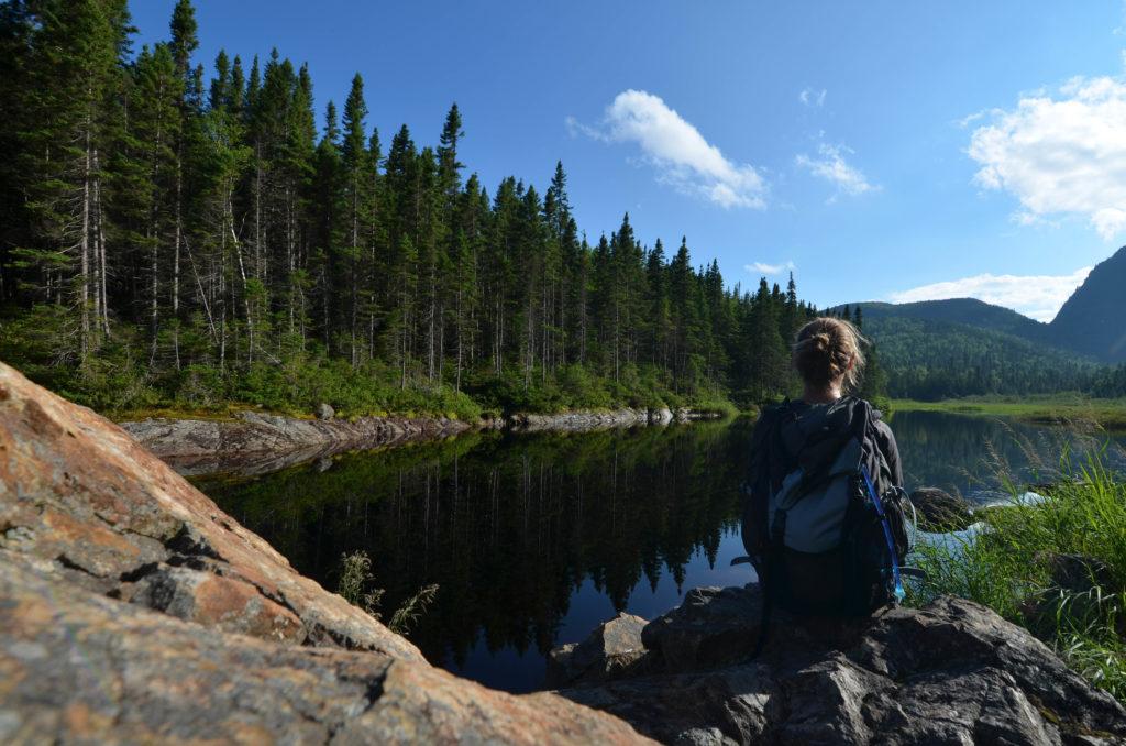 Montagne Blanche rando Saguenay