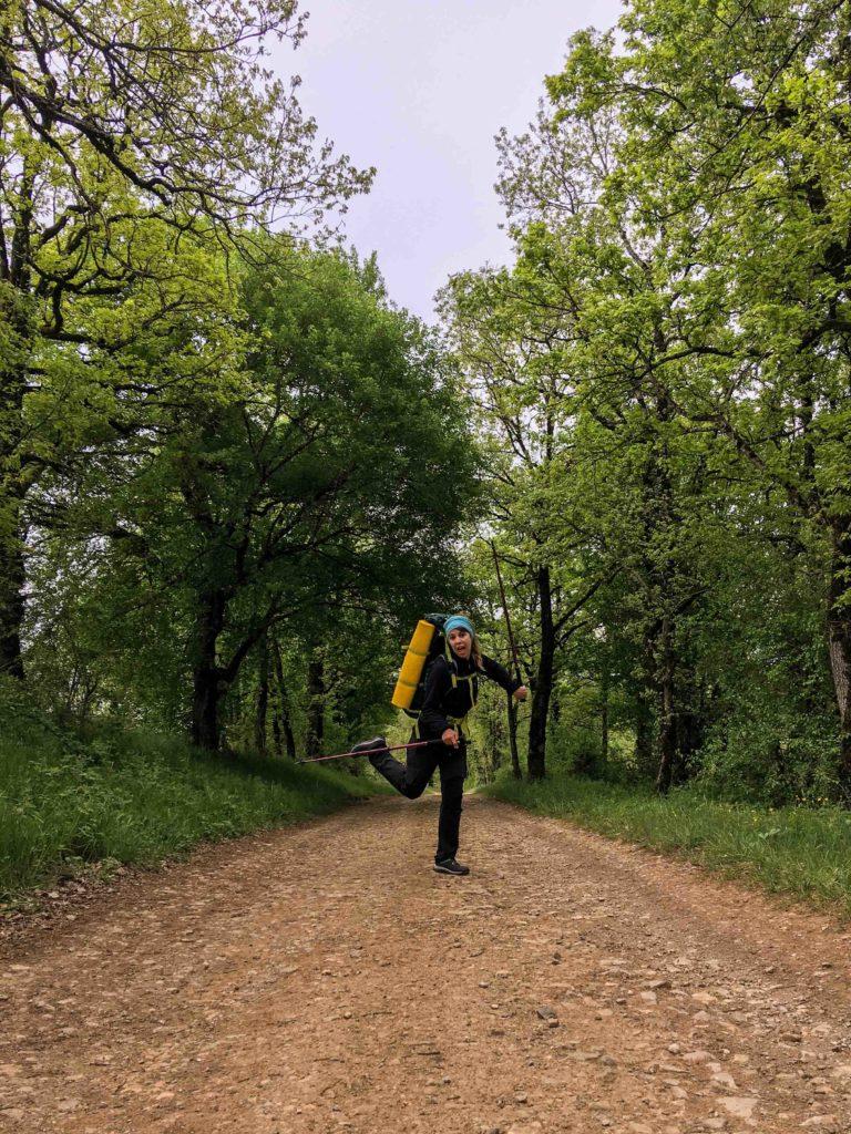 Chemin st jacques randonnée