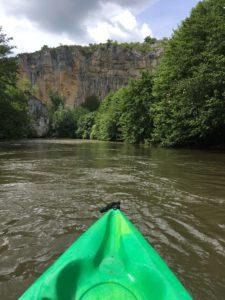 Chemin rando canoe célé