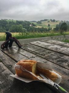 repas rando chemin saint jacques gr65