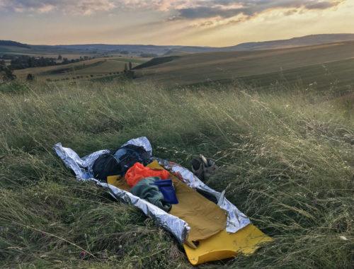 camping camino frances randonnée belle étoile