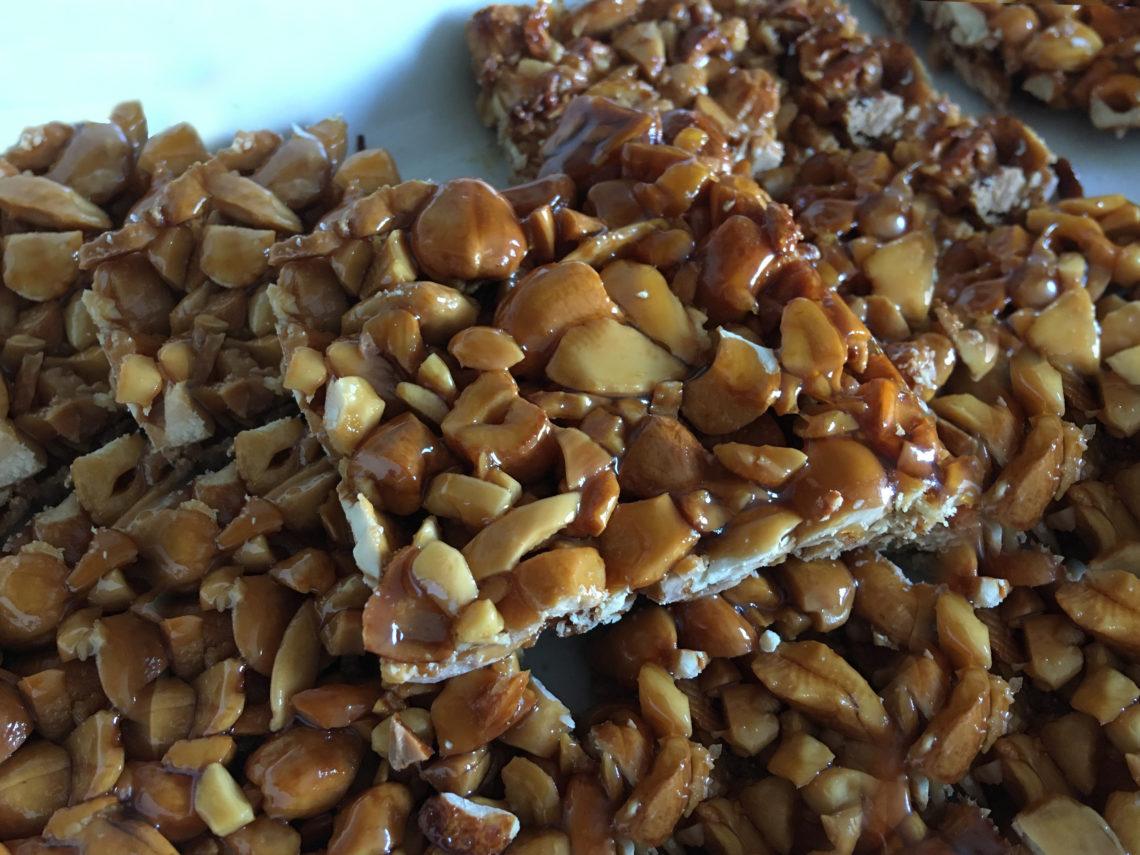 recette noix de cajoux amandes