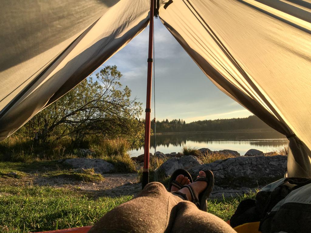 bivouaquer-randonnée-tente
